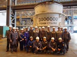 Калужский завод выпустил 4-миллионную тонну стали